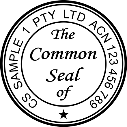 Common Seal Stamp CS1