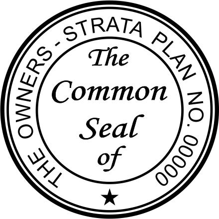 Common Seal Stamp CS4