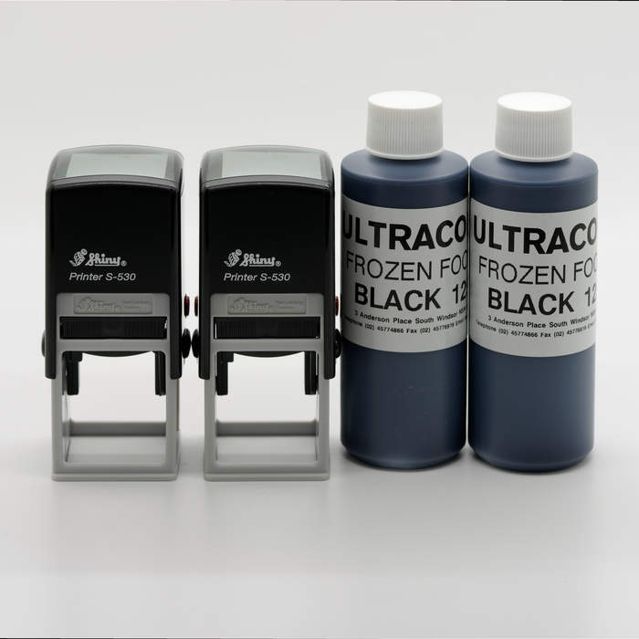 Night Club Stamp Kit with Standard Black Ink